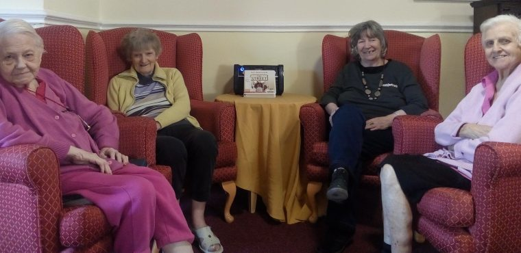 Chesterfield care home celebrates National Storytelling Week