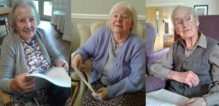 Care home receives care packages from teen volunteers