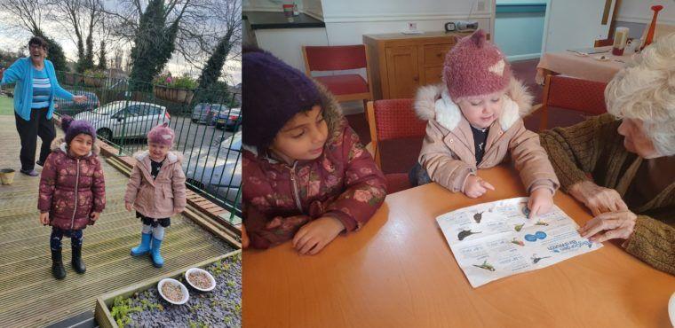 Big Garden Birdwatch brings Thornaby's generations together