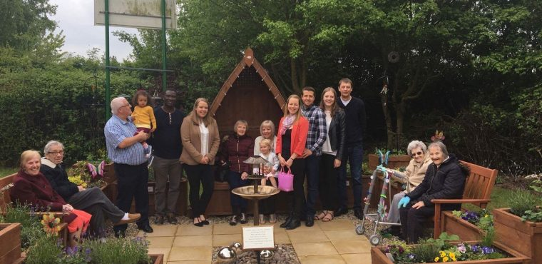 Charitable family create sensory garden in memory of grandmother