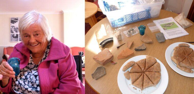 Elderly residents explore ancient Roman Rotherham