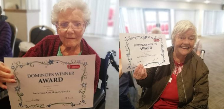 Gold medal for Broadacres at Care Home Olympics