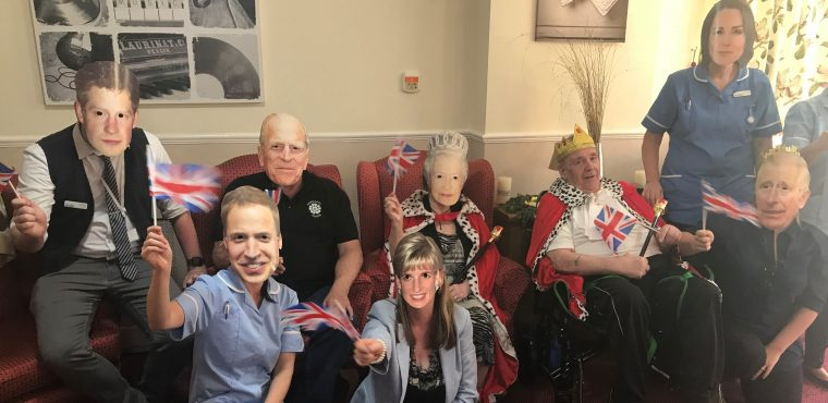 Royal celebration for Care Home Open Day in South Yorkshire