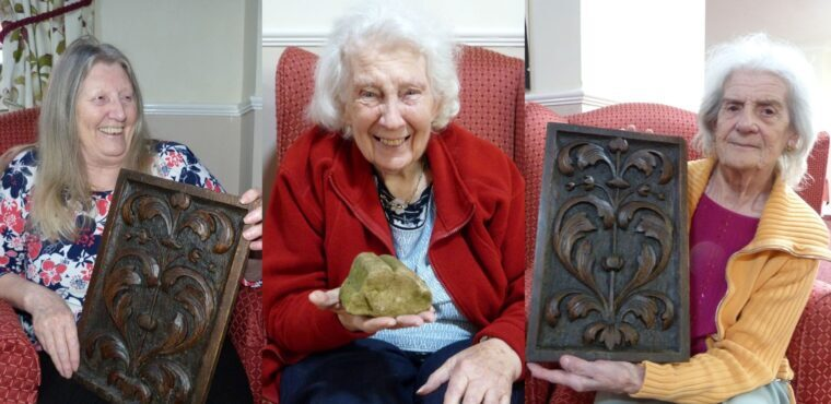 Care home residents explore Medieval Rotherham