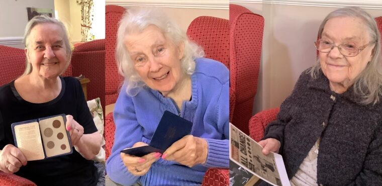 """Royal Mint """"museum in a box"""" loaned to Rotherham care home"""