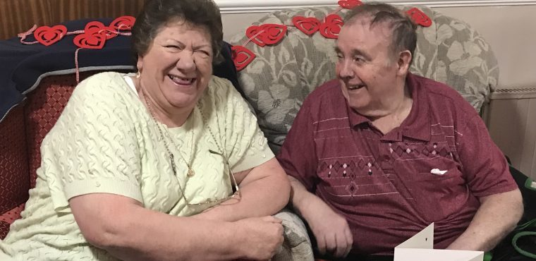 Care home couples mark a century of marriage on Valentine's Day