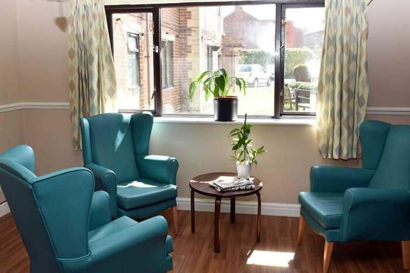 care home cosy sitting chairs