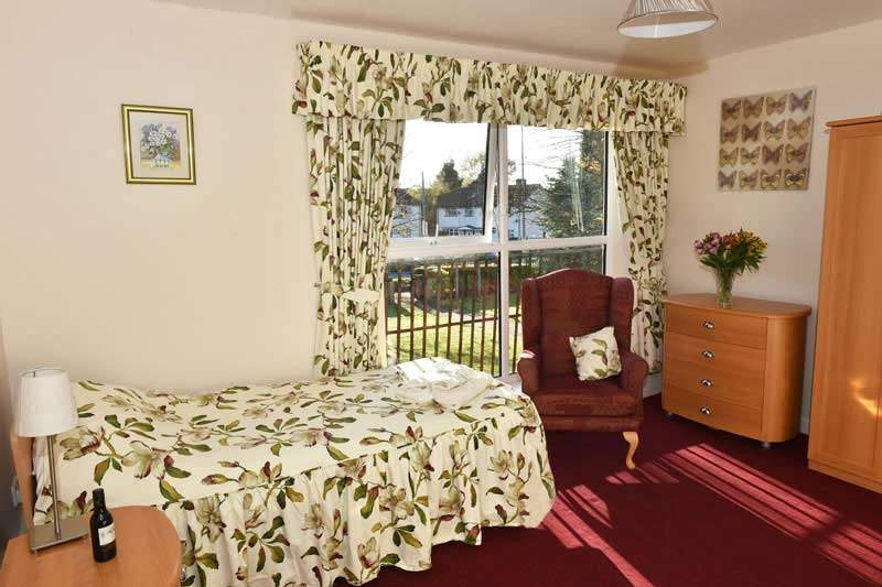 care home Manchester bedroom