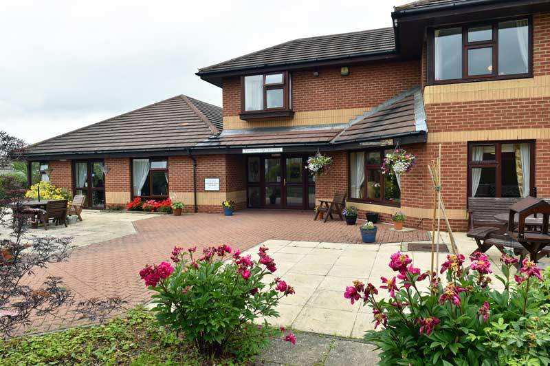 front view care home Peterlee County Durham
