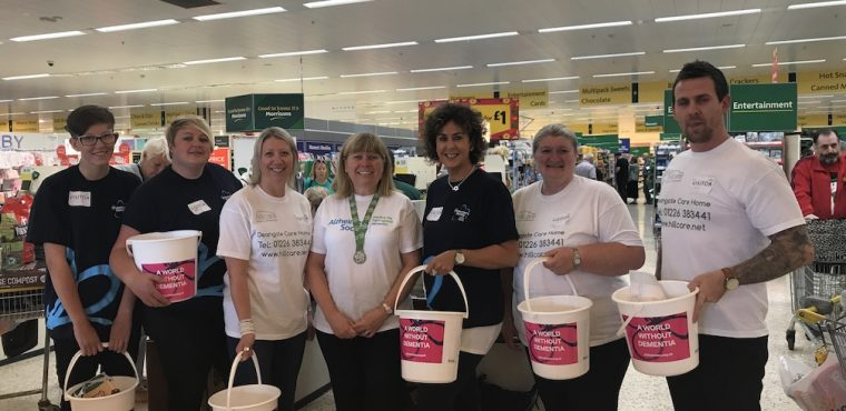 Barnsley care home bag pack raises funds for Alzheimer's