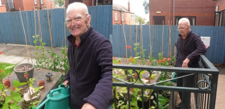 Hundreds of plants donated to Barnsley care home