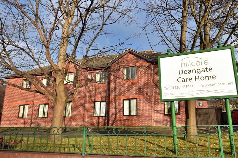 Deangate care home Barnsley