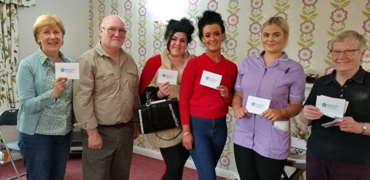 Dementia friends gather at Teesside care home