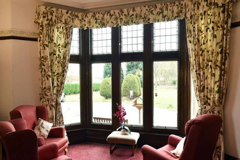 dementia residential care home-sitting room West Yorkshire
