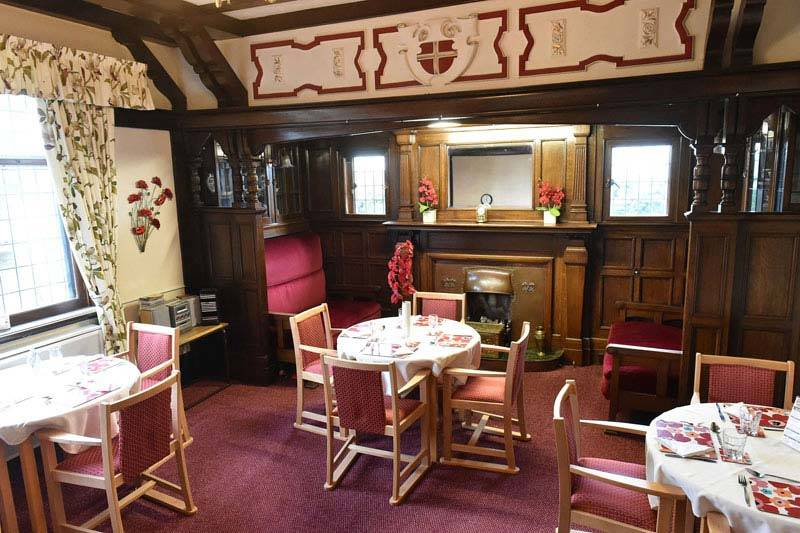 dining hall residential care home West Yorkshire