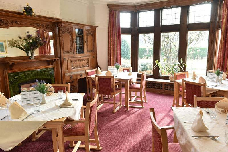 dining room Care Home Skelmanthorpe