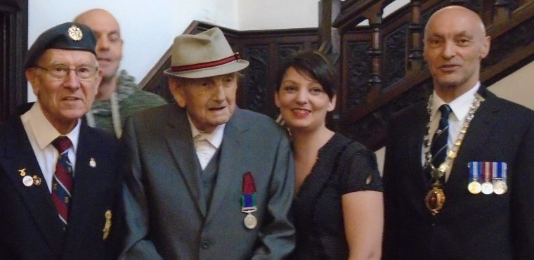 RAF vet receives medal almost 70 years after Egypt service