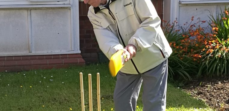 Cricket and cream tea at care home's Yorkshire Day