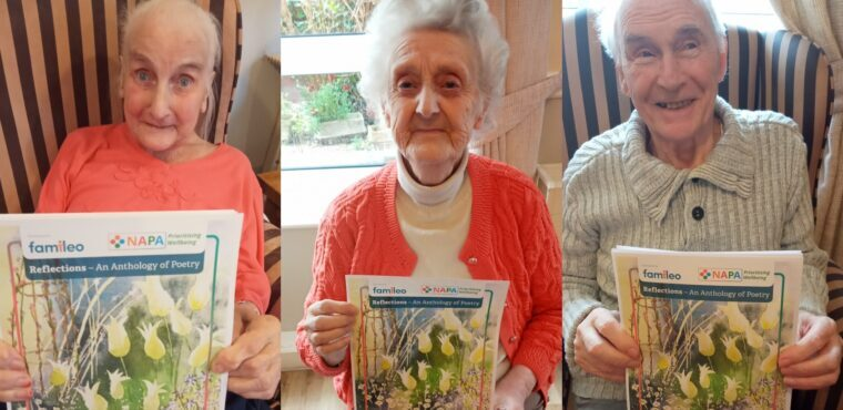 Care home poets published in NAPA anthology