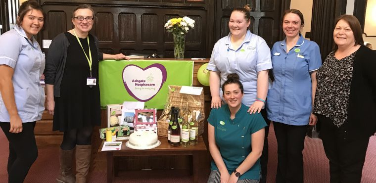 Hundreds raised for Ashgate Hospicecare by Hill Care homes