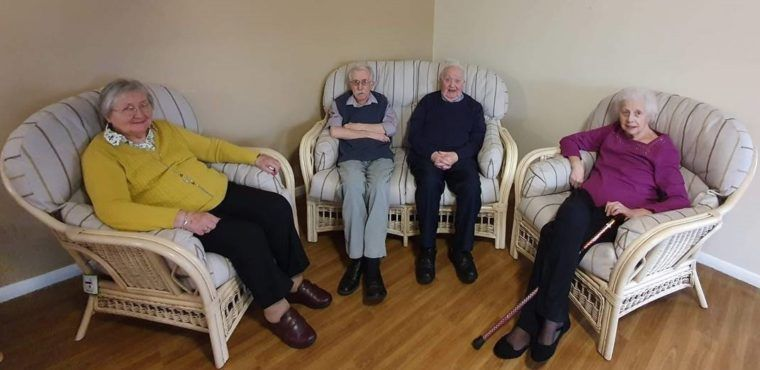 Suites donated to care homes to tackle loneliness