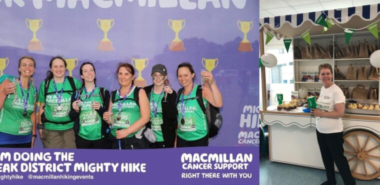 Care home group raises thousands for Macmillan