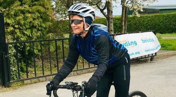 100-mile England to Scotland bike ride for Macmillan