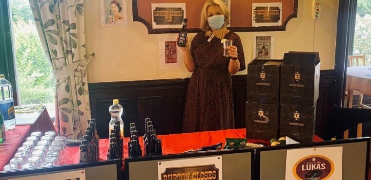 Care home beer festival serves residents a r-ale-y good time