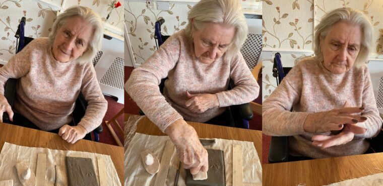 Digital technology enables care home ceramics classes