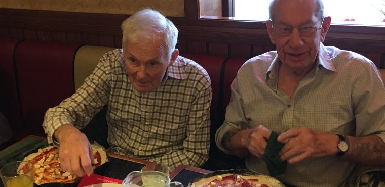 Elderly get their perfect slice on National Pizza Day
