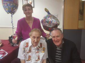 Johnny Larkin celebrating 91st birthday