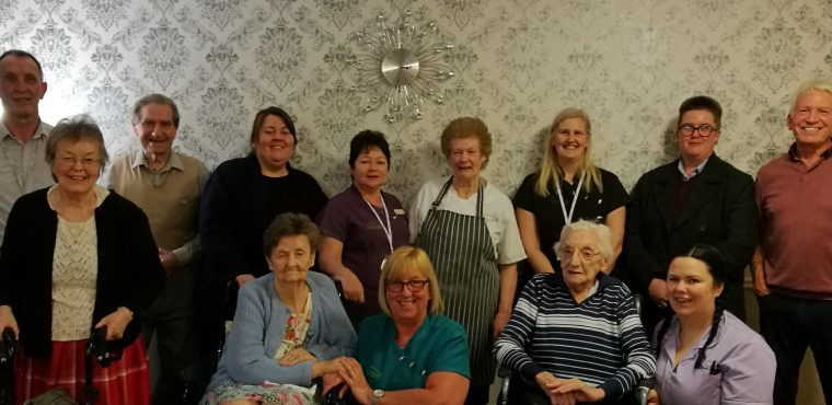 Ingleby Care Home Cook Judy Wilson Retires