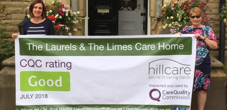 "Sheffield care home celebrates ""Good"" rating from CQC"
