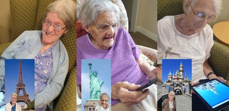 Bucket list VR world tour for care home residents