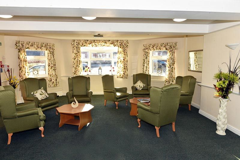 living room residential Bolton care home
