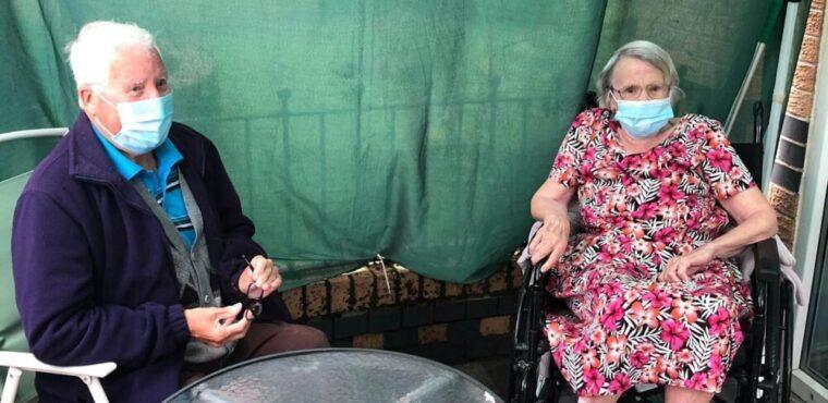 Long-lost friends rekindle eight decades of friendship