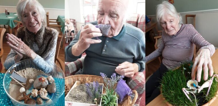 Care home residents go wild for 30 days