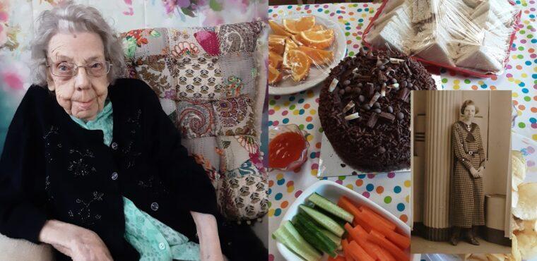 104th birthday bash for Kathleen