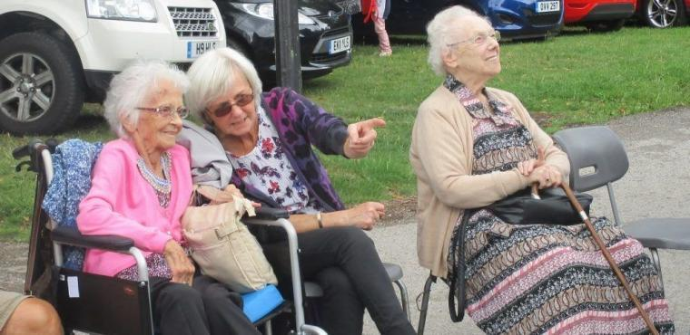 Hundreds raised at Huddersfield care home summer fair