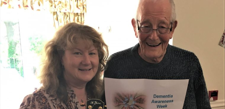 Care home's dementia friendly singalong to raise awareness