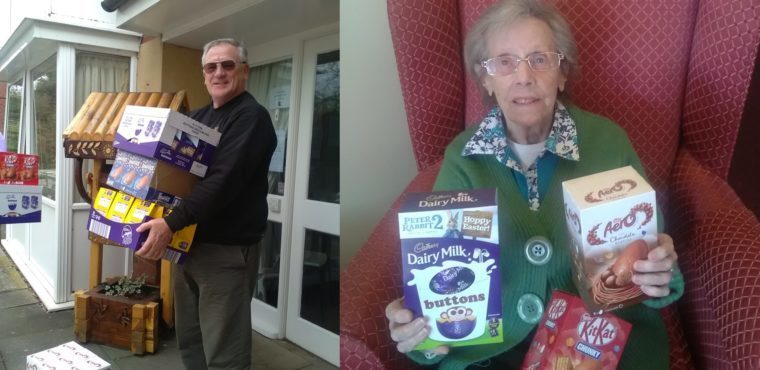 Dozens of Easter eggs donated to Thornaby care home