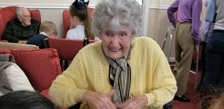 Storytelling brings Thornaby's young and elderly together