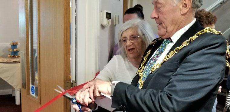 Bucks fizz celebration to open care home's new bistro