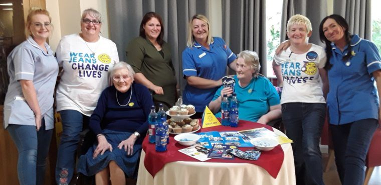 Care home's Jeans for Genes Day raises funds for children with genetic disorders