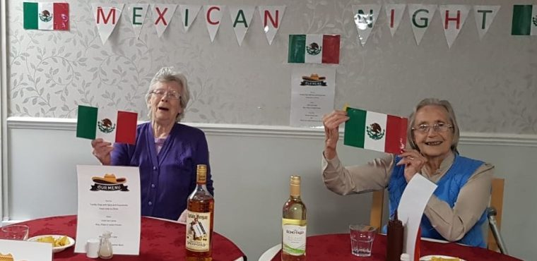Mexico comes to Northumberland care home