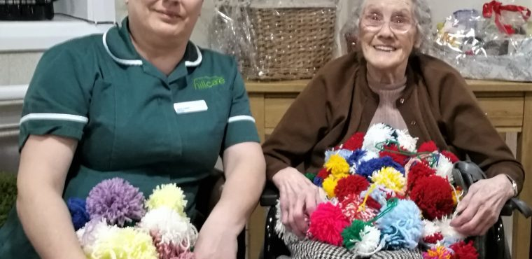 Wool needed to finish care home's pom pom Christmas tree
