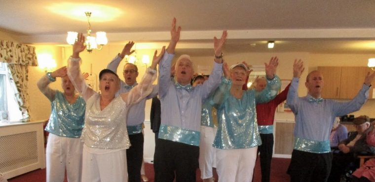 Old Stagers keep elderly entertained