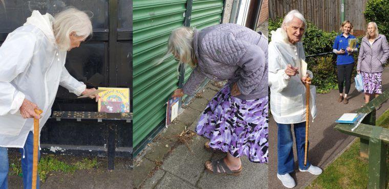 Children's books hidden around village to encourage reading