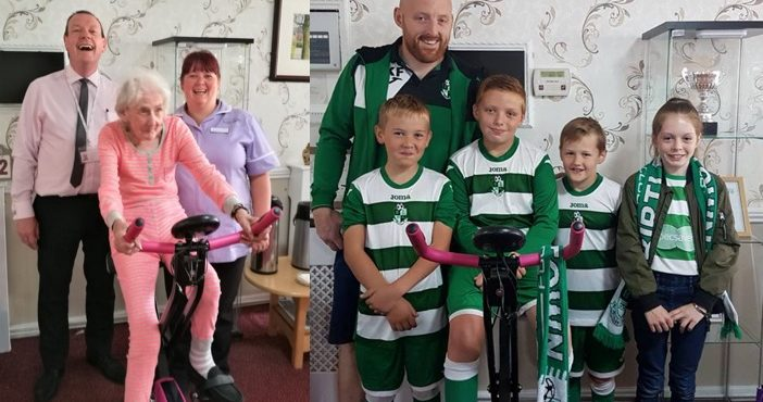 Fundraisers cover 200 miles in care home cycling challenge
