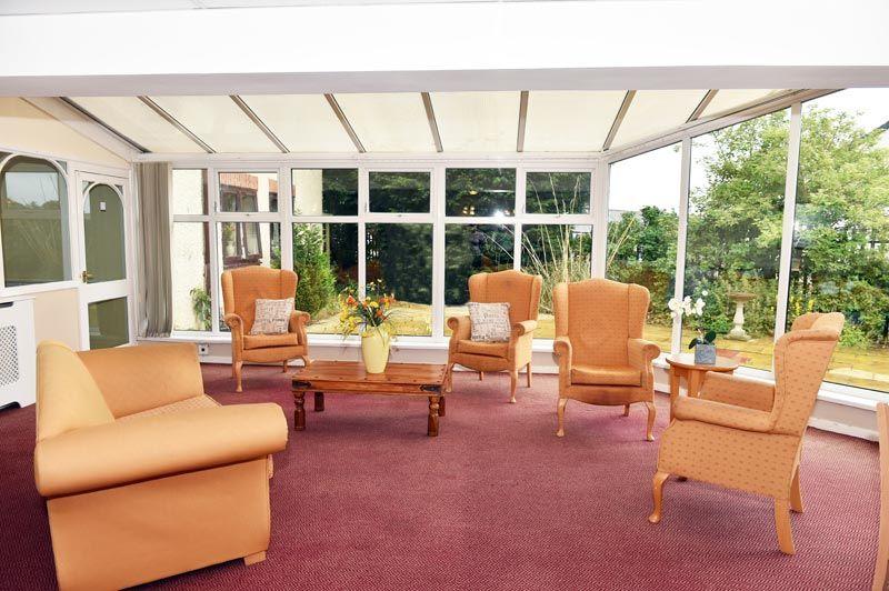 Pelton grange inside conservatory